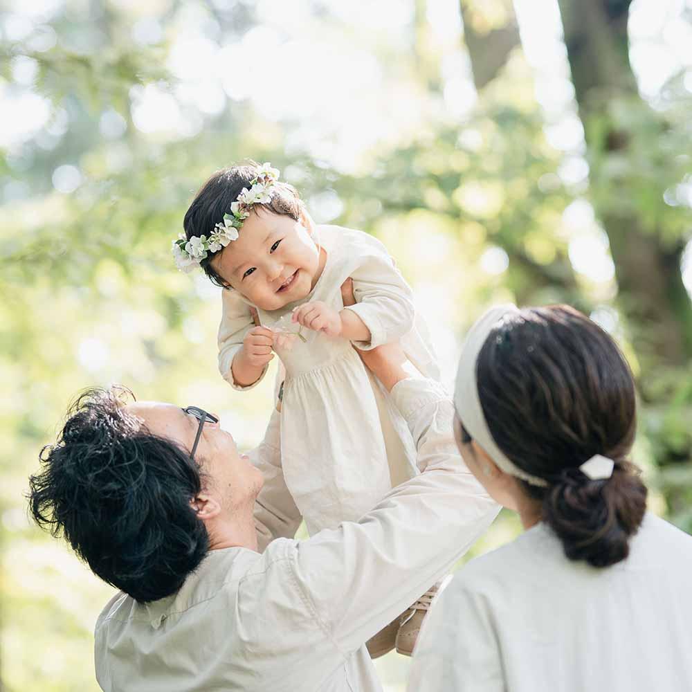 京都の家族写真