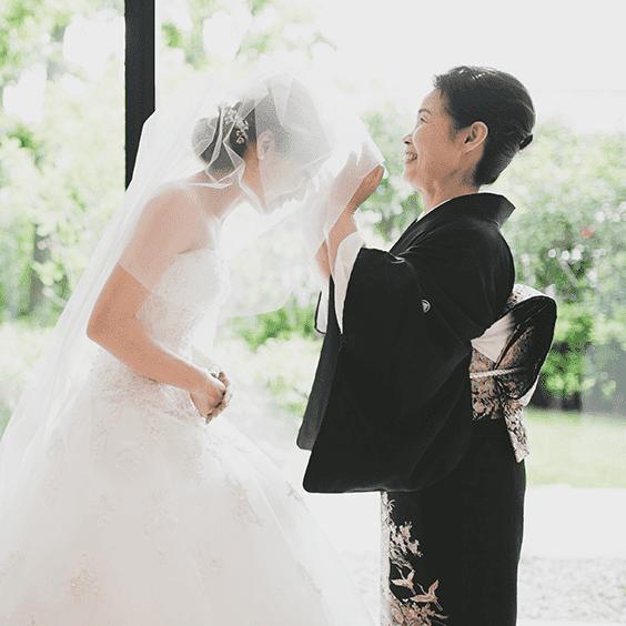 結婚式当日撮影