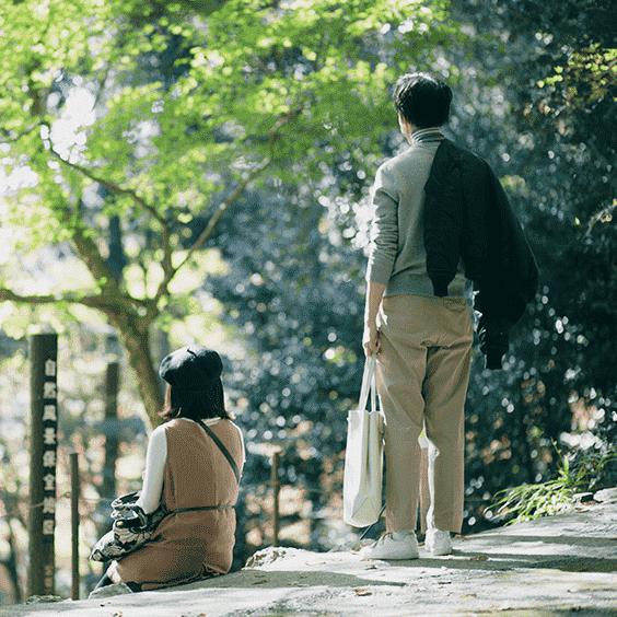 京都のカップル撮影