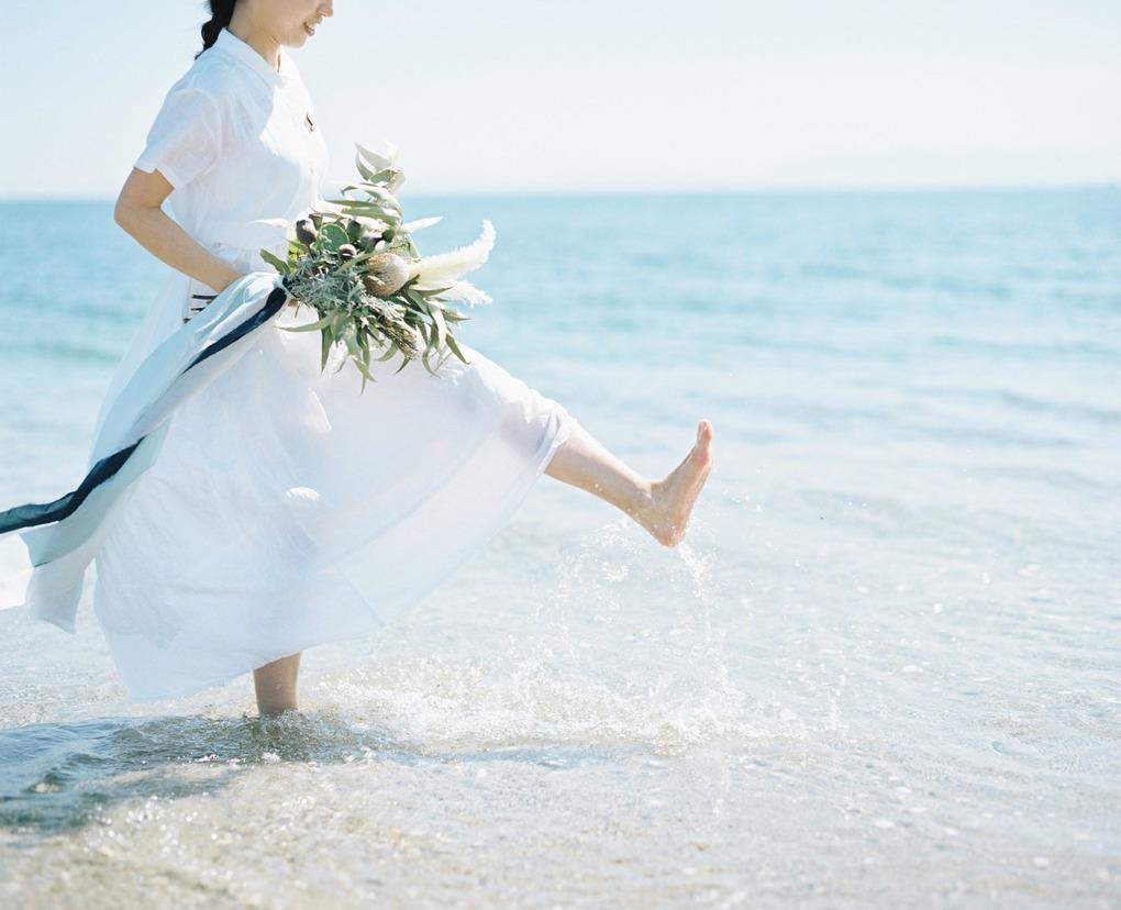 結婚式前撮りフィルムカメラ