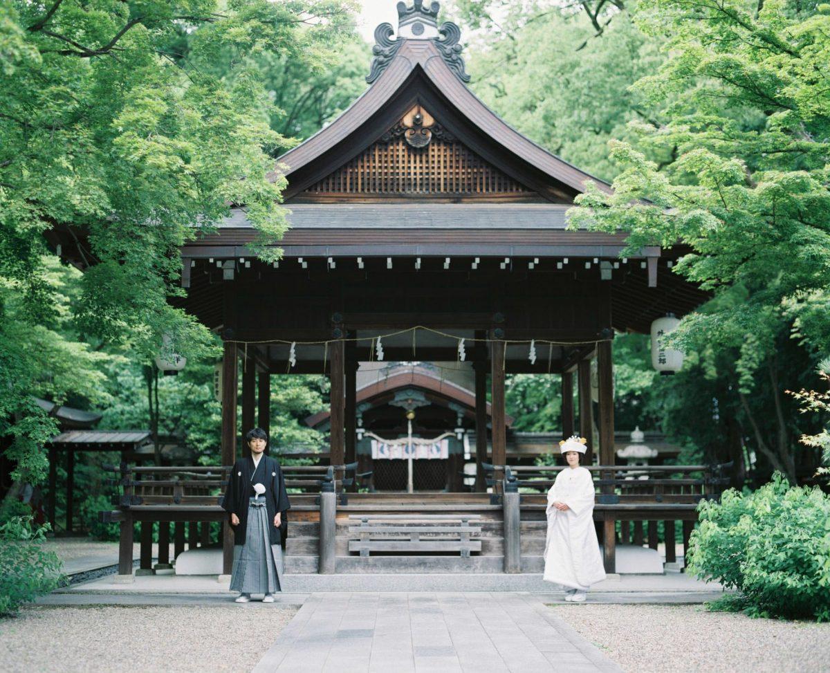 京都の和装前撮り