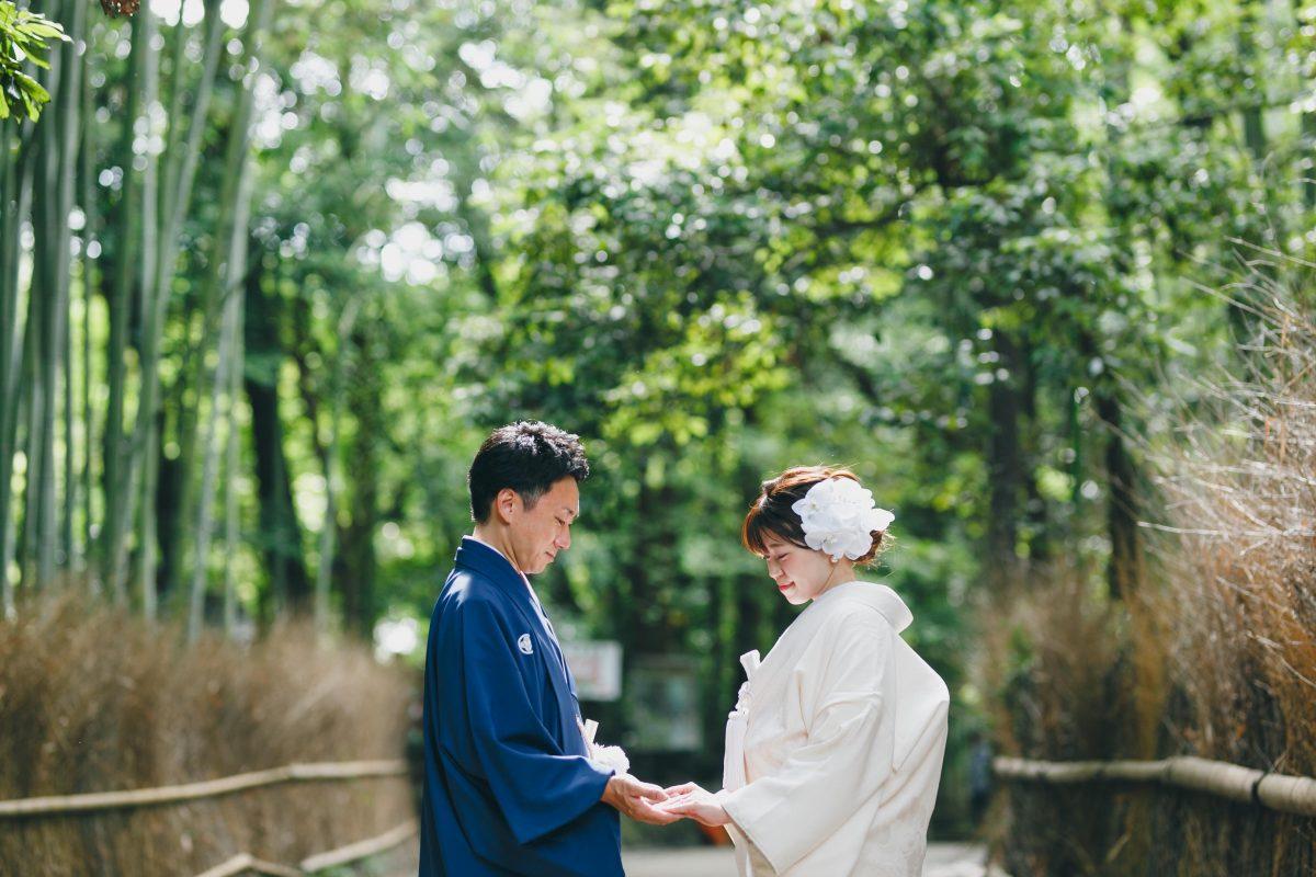 京都嵐山の和装前撮り
