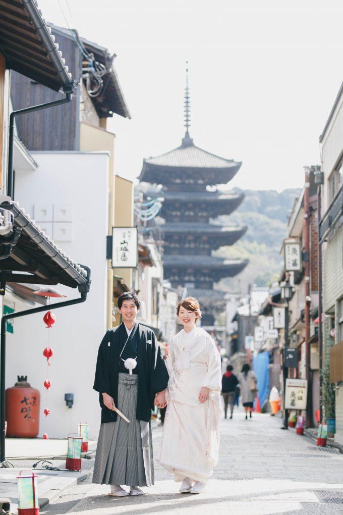 前撮り京都和装