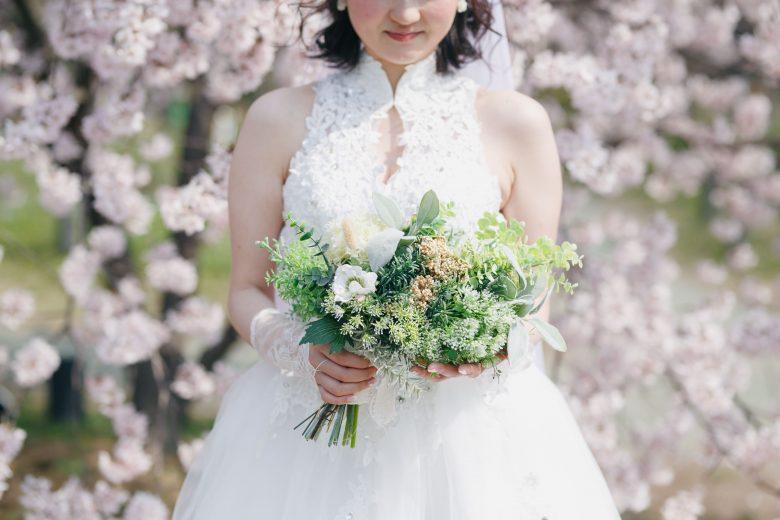 洋装桜前撮り