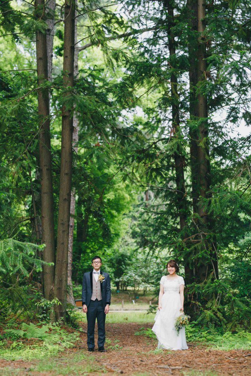 京都の洋装前撮り