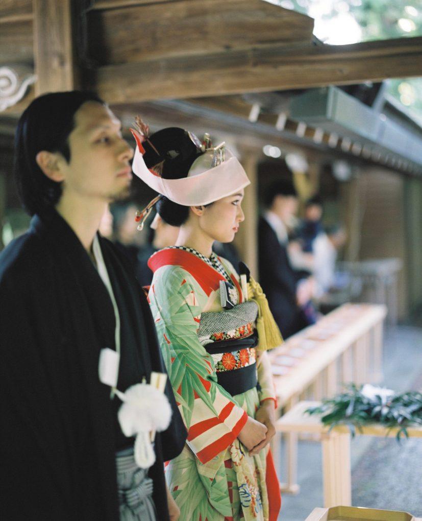 結婚式フィルムカメラ撮影