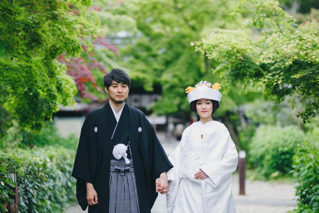 京都梨木神社結婚式