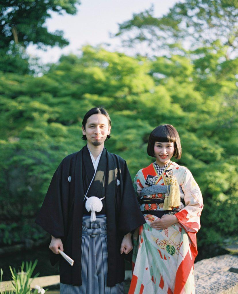 京都結婚式フィルムカメラ