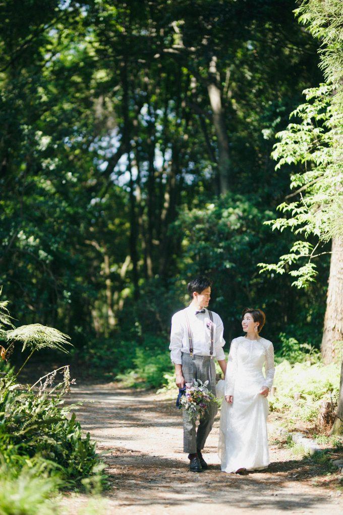 京都植物園洋装前撮り