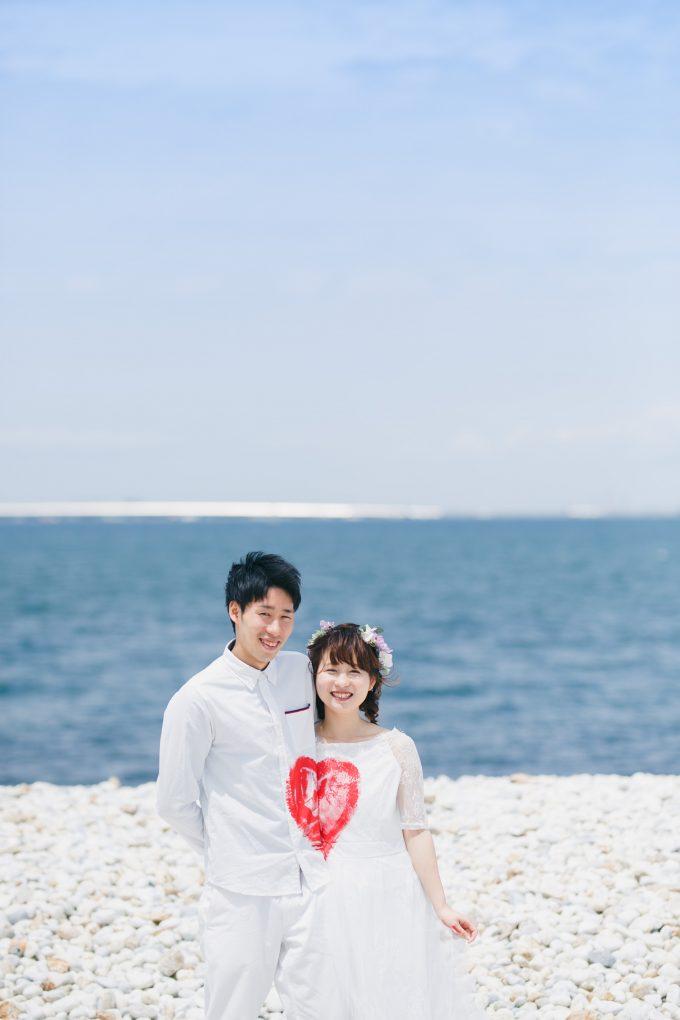 大阪マーブルビーチ洋装前撮り