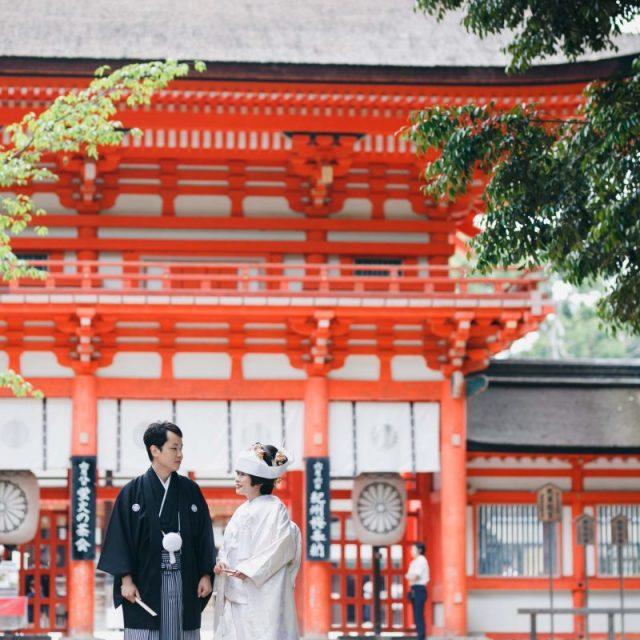 京都下鴨神社結婚式