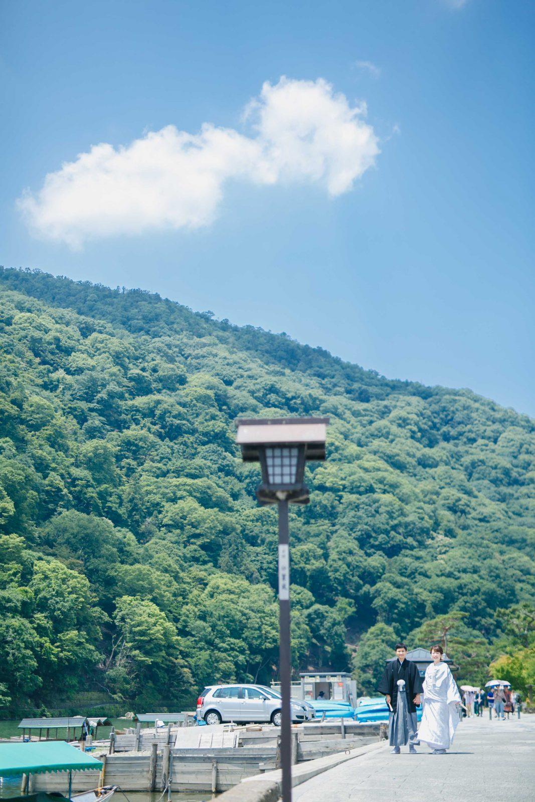 京都嵐山和装前撮り