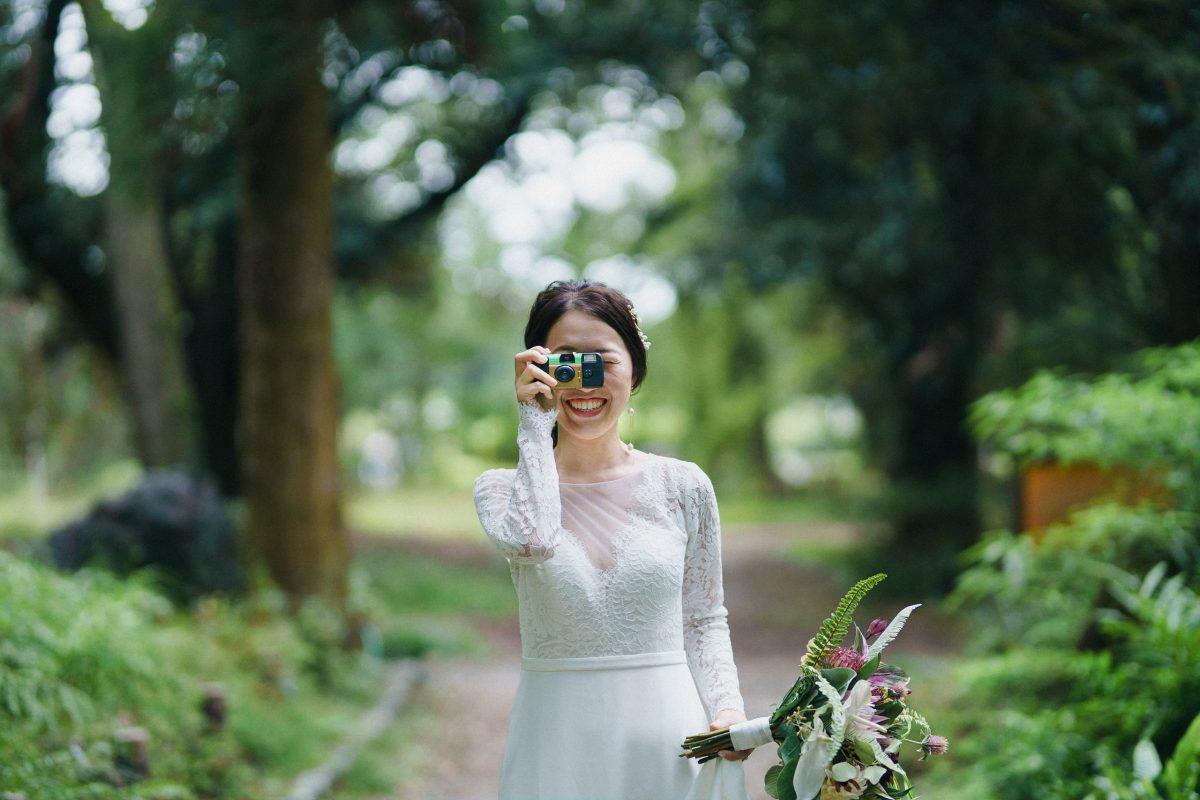 京都ドレス洋装前撮り