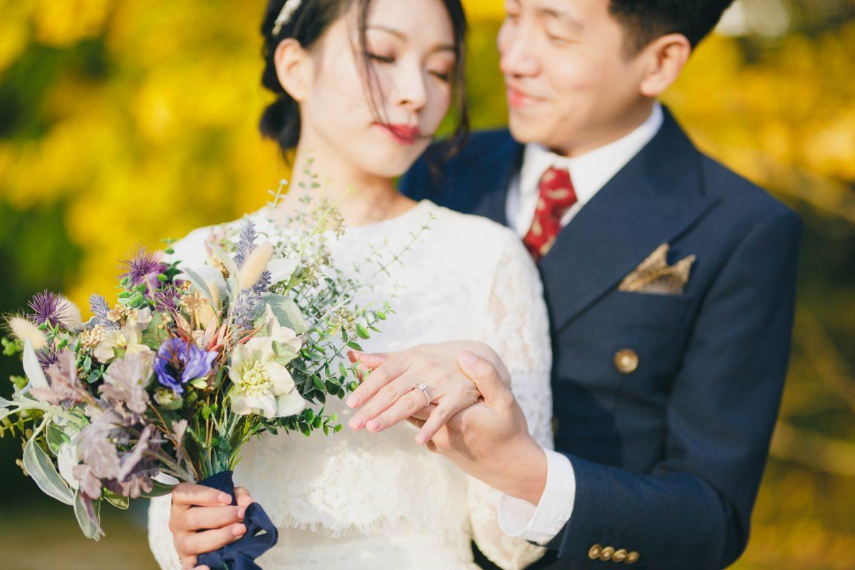 京都ドレス前撮り