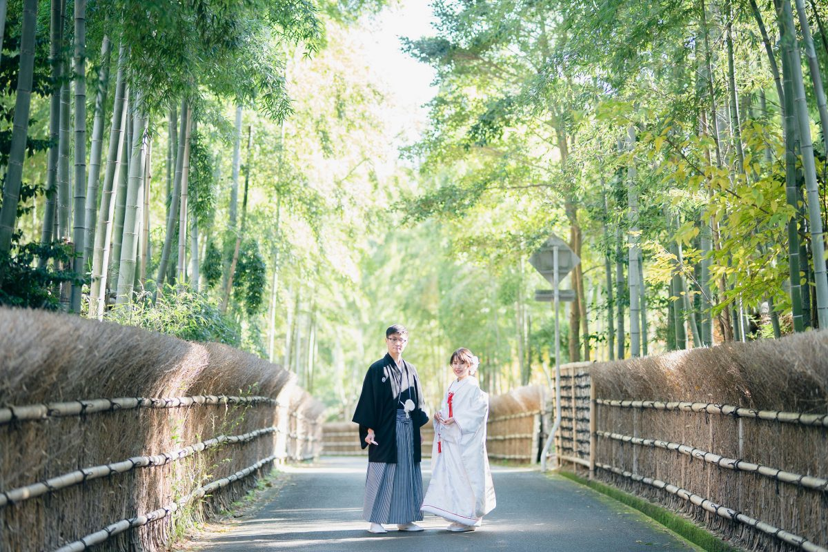 京都竹林前撮り