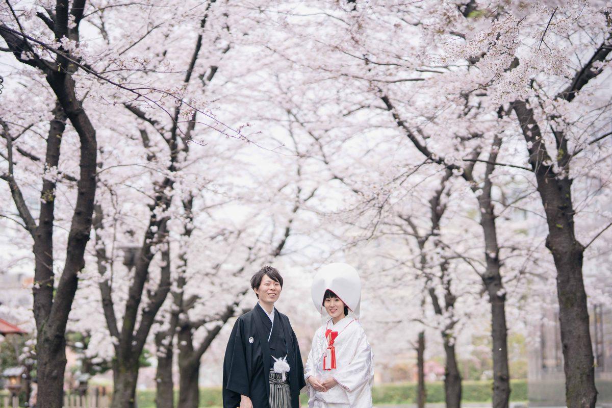 京都桜和装前撮り